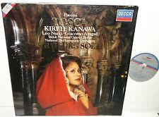 414 597-1 Puccini Tosca Kiri te Kanawa Leo Nucci Giacomo Aragall Georg Solti 2LP