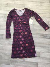 Women's SATVA Brand Kanti Long Sleeve Dress Size Medium NWT Retail $59