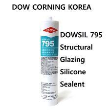 BLACK Dow Corning 795 Silicone Structural Glazing Sealant Cartridge 10.3oz 300ml