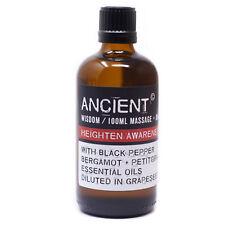 Erotic Heightened Awareness Massage Oil 100ml Bottle - Sexual Stimulating Body