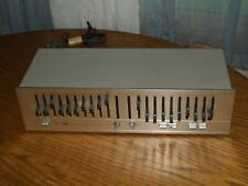 BSR EQ-110X 10-Band Stereo Frequency Graphic Equalizer Working