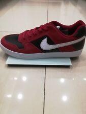 Nike sb Delta Fuerza-UK Size 7 (40.5) - Trainers Mens Nuevo-Rojo/Blanco/Negro -