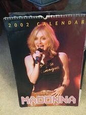 Madonna Calendar 2002 17 inch