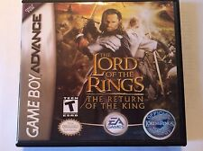 Lord of the Rings The Return of the King - GBA - Replacement Case - No Game