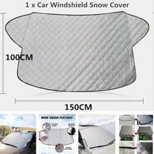 New 1Pcs Car Front Windshield Snow Ice Cover Frost Sun Shade Protector 50x100cm