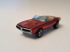 Hot Wheels Redlines, Custom Firebird, Red, HK, 100% Original
