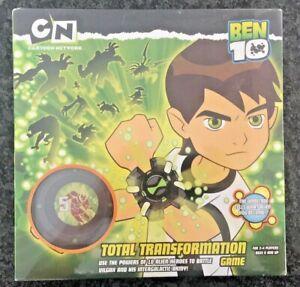 Cartoon Network Ben 10 Total Transformation Game 2-4 Players Alien Vilgax Army