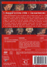 BEPPE GRILLO Incantesimi (2006) 2 DVD BOX ORIGINALE NUOVO SIGILLATO