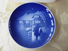"B & G Copenhagen Porcelain Decorative 7"" Plate ""Jule After 1973"" Made In Denmark"