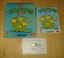 Konami msx 1034 ninja turtles cassette tape 1990 mirrorsoft