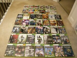47 XBOX 360 GAMES , PAL , SOME TOP GAMES , BUNDLE , JOBLOT