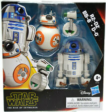 Star Wars Galaxy of Adventures R2-D2, BB-8, D-0 pack of 3 Action Figures NIB