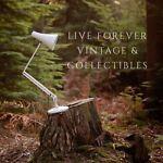 Live forever vintage retro
