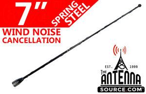 "7"" Black Spring Stainless AM/FM Antenna Mast Fits: 1994-1997 Dodge Ram Van 2500"