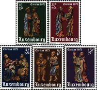 Luxemburg 871-875 (kompl.Ausg.) postfrisch 1973 Caritas