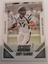 2015 Panini Score Football Trading Card, (Rookie) #374 Cody Fajardo