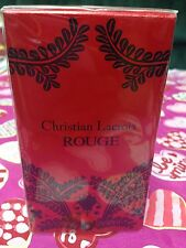 NEW SEALED Avon ROUGE Christian Lacroix 1.7oz perfume