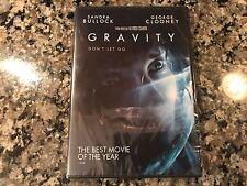 Gravity Sealed Dvd! 2013 Shuttle Mission Drama! Interstellar Apollo 13 Moon Love