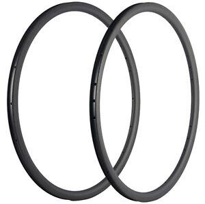 Carbon Fiber Rims Clincher 30mm Depth 25mm Carbon Rim 16/18/20/21/24/28 Holes