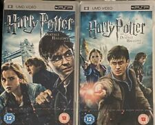 Psp UMD movies Harry Potter And The Deathly Hallows Part 1 & 2  New And Sealed