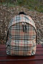 NEW Authentic BURBERRY Vintage Check Nylon Backpack