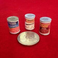 "1:6 Handmade miniature for 11""-12"" size dolls - Canned food #5"