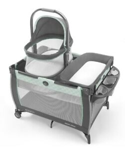 Graco Baby Pack 'n Play Day2Dream Portable Bedside Bassinet Playard Mills NEW