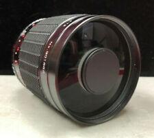 SAMYANG MC 500mm f8 REFLEX MIRROR LENS, case, 3 FILTERS, CANON FD MOUNT
