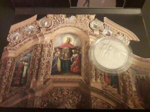 2017 #20b Ukraine Coin 5 UAH St. Catherine Church Chernihiv in Booklet