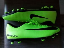 Nike Mercurial Vortex III FG Men's Soccer Cleats 831969 303 Electric Green Black