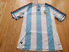 Mens adidas Argentina Home football shirt 2007 - 2009 Size L