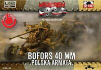 AA Gun Bofors 40mm & Booklet  First to Fight 036 1/72