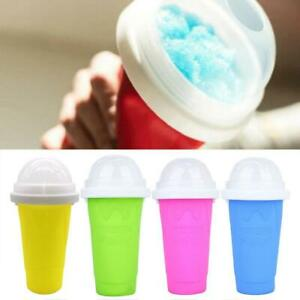 Quick-frozen Smoothies Slushy Ice Cream Maker Squeeze Cooling Cup Bottle