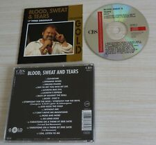 CD ALBUM BLOOD SWEAT & AND TEARS COLLECTION GOLD 17 TITRES 1990 COMPILATION
