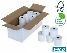 More details for star tsp 100 80 x 80 mm thermal till rolls quality bpa free receipt paper bysmco