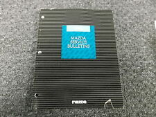 1993 Mazda MX-5 Miata Original Factory Technical Service Bulletin Manual