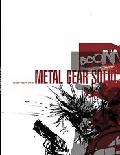 ASHLEY WOOD'S ART of METAL GEAR SOLID sons of liberty mobile portable ops