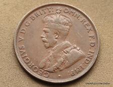 1925  PENNY NICE SCARCE KEY DATE *AUSTRALIA* RARE LOW MINT #HOQ8