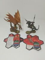 Heroscape - Mimring and Grimnak - Rise of the Valkyrie - w/ Cards