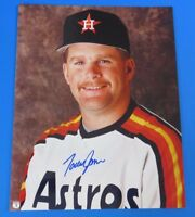 TODD JONES SIGNED 8x10 PHOTO ~ HOUSTON ASTROS ~ BASEBALL AUTOGRAPH