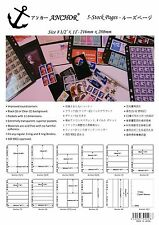 **NEW ANCHOR 60 Crystal-clear Stock Sheets / Pages 3C (3 rows) FREE SHIPPING !!!