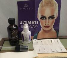 Fiberglass Artifical Nail Wrap Kit Ultimate Fiberware Resin,wraps Kit