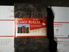 "ALLEN CAMO BURLAP- 12' x 54"". INSTANT BLIND-SETS UP IN MINUTES! NICE! NEW SEALED"