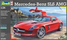 Revell Germany 1:24 Mercedes Sls Amg Plastic Model Kit 07100 Rvl07100