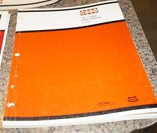 CASE 74L Loader Parts Catalog Manual Book Rac 8-2300