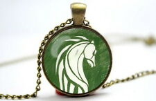 The Lord of the Rings - Rohan Symbol - Photo Glass Dome Necklace Pendant