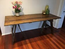 Timber Trestle Table, Dining, Desk, Weddings, Parties