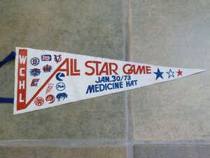 WCHL Western Hockey ALL STAR Pennant - 1973