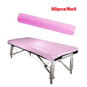 50x Disposable SPA Massage Bedsheet Waterproof Non-woven Beauty Salon Bed Cover
