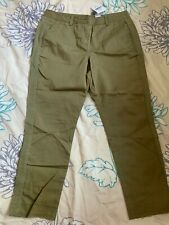 Womens Next Green Pants Ankle Bnwt Rrp £24 Size 10 Reg